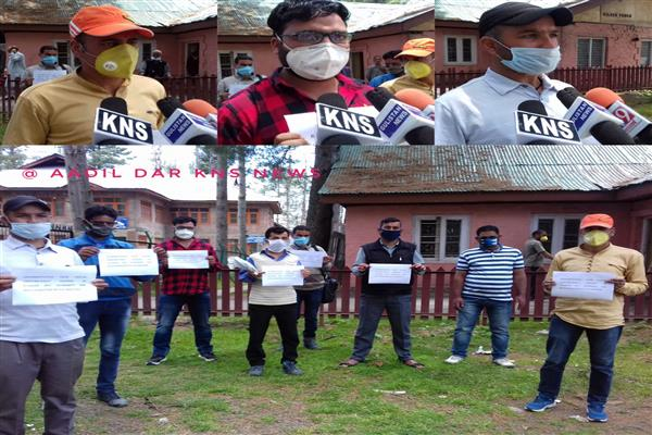 GDA casual labourers stage protest, demands pending wages, regularization