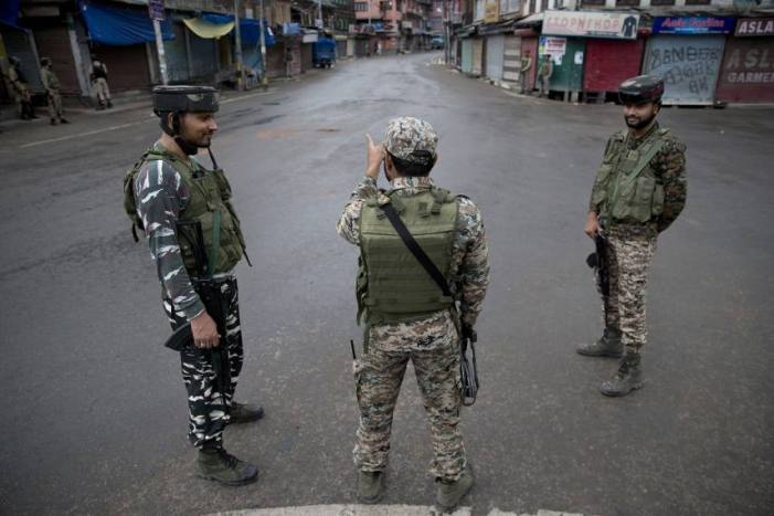 Search operation launched in two Srinagar localities