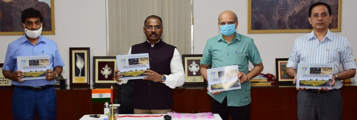Lt Governor releases Coffee Table Book of JKIDFC