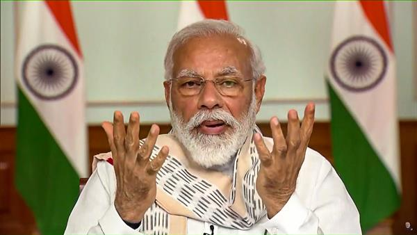 PM Modi condemns killing of 3 BJP workers in J-K