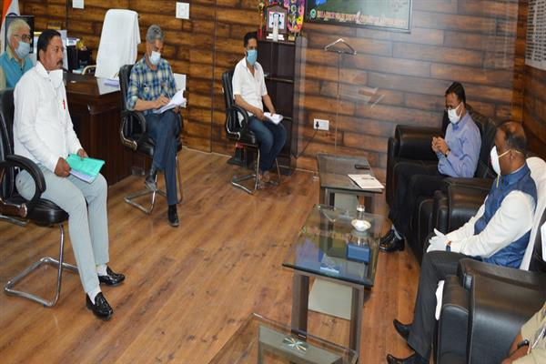 Lt Governor interacts with BDC Chairpersons, PRIs representatives of Doda district