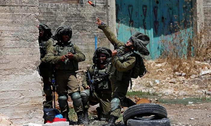 Israeli troops kill Palestinian accused of hurling firebombs
