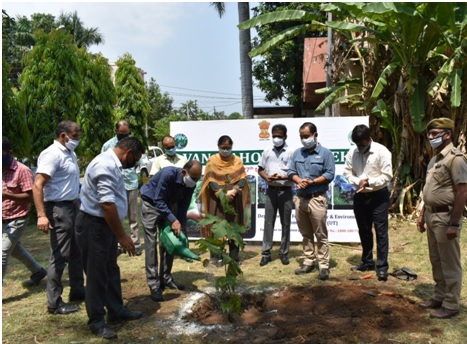 Greening Jammu: UFD Jammu conducts plantation drive in GWC Gandhinagar