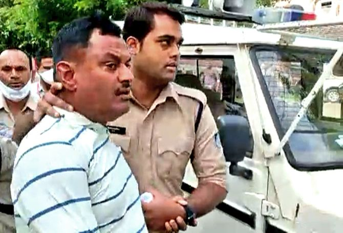 Gangster Vikas Dubey Killed In Police Encounter In Kanpur