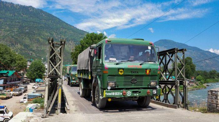 India rejigs deployment in Ladakh amid standoff