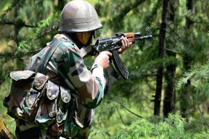 Tral gunfight: One militant killed, operation on