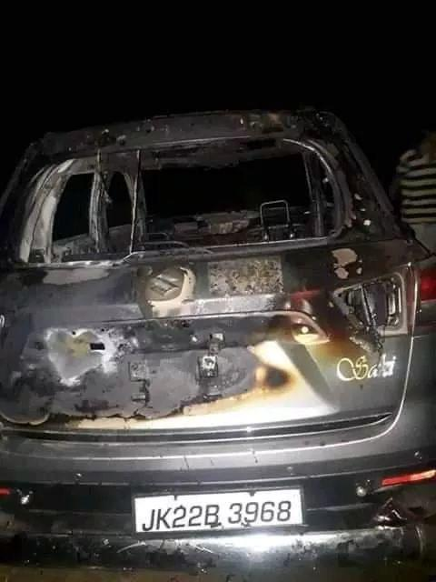 Off-duty soldier abducted in south Kashmir, car burnt
