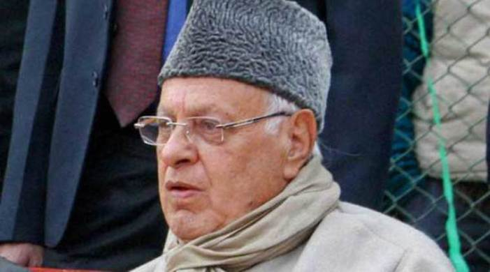 'Goli Maaro Saalo Ko' Chanted In Protests Against Farooq Abdullah Outside NC Office