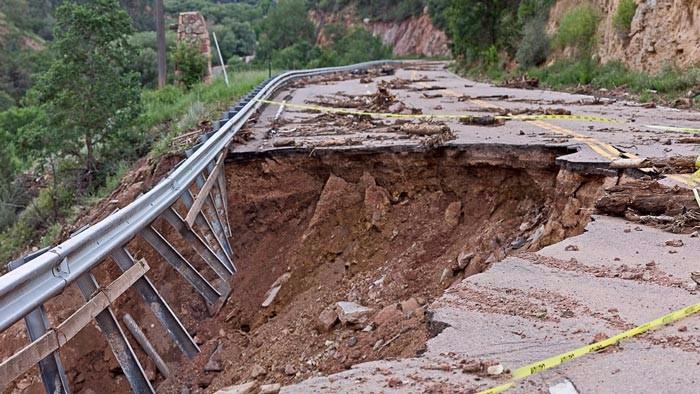 Landslides Block Roads, Flash Flood Alert In J&K