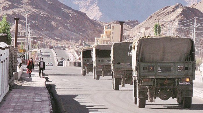 Blocked by Army at Pangong Tso, China claims India disturbing border peace