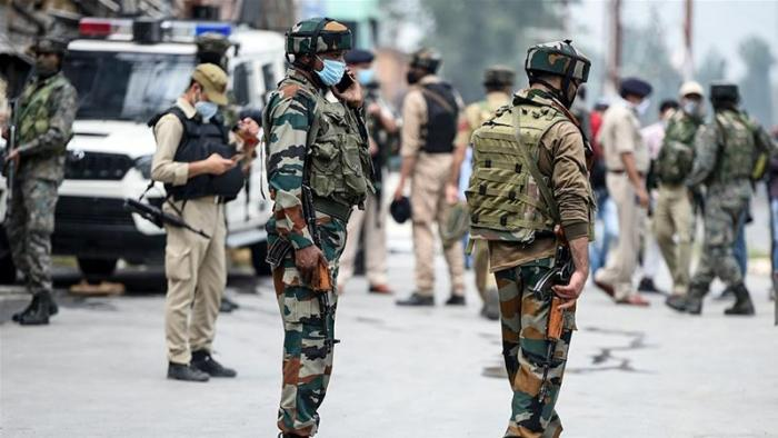 Three militants killed, two troopers injured in Shopian gunfight