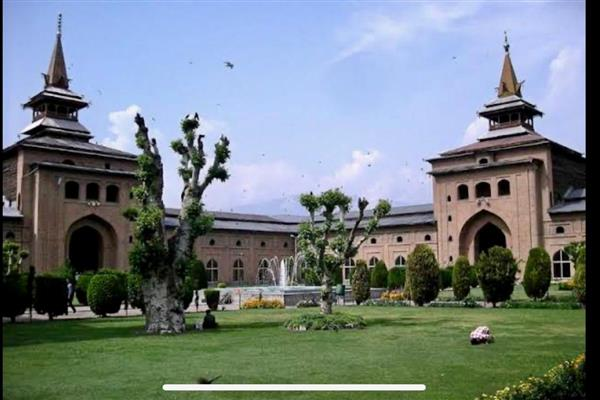No collective prayers in Jamia Masjid Srinagar in month of Ramadan