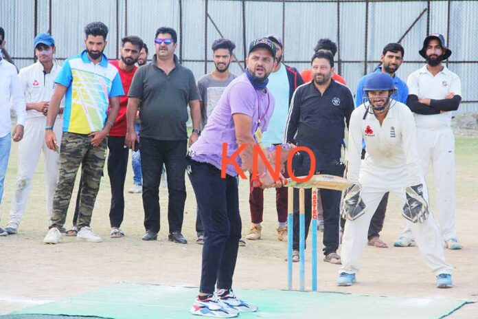 Indian star cricketer Suresh Raina visits Kunzar, interacts with local youth