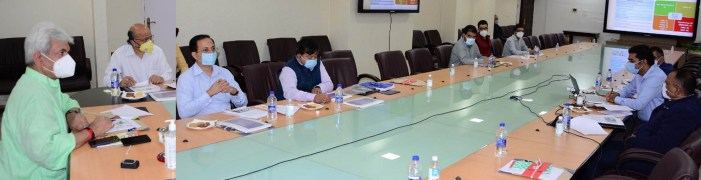 Lt Governor reviews developmental scenario of Srinagar