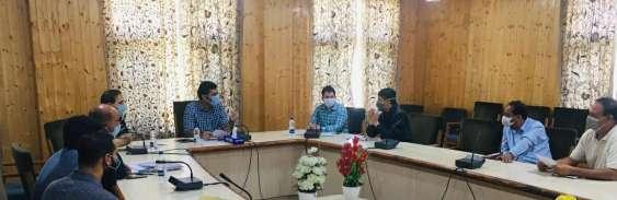 DC Srinagar review Quality Check, Digitization of land records