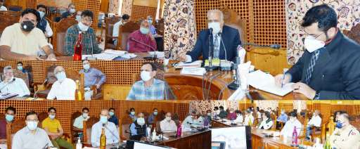 Hasnain Masoodi visits Shopian, reviews developmental projects, implementation of schemes