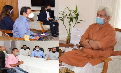 Members of Business fraternity call on Lt Governor