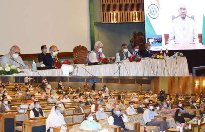 Lt Governor inaugurates 'Brainstorming on implementation of NEP-2020 in J&K'