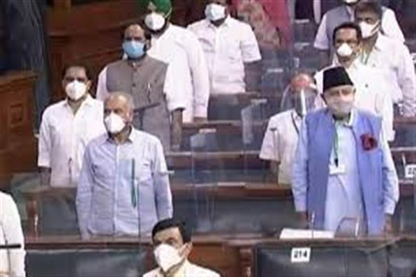 Farooq Abdullah attends Parliament first time after abrogation of Article 370