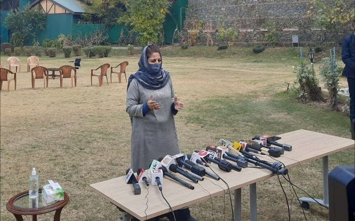 Mehbooba claims Modi has ruined country and Kashmir