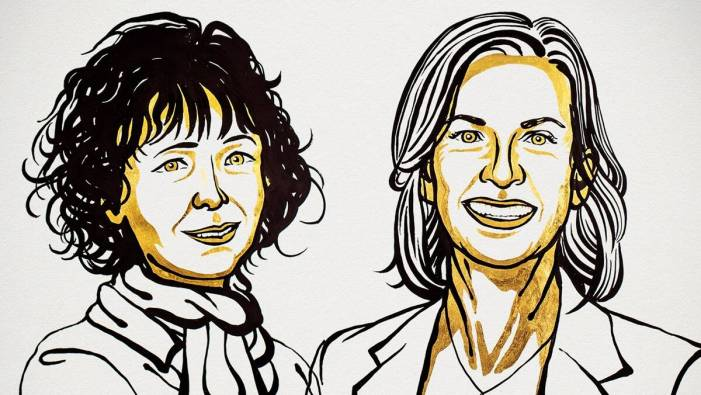Nobel Prize 2020 in Chemistry awarded to two scientists for work in genome editing