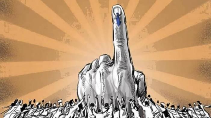 LAHDC polls underway amid tight security arrangements in Leh