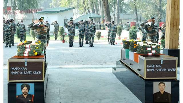 Lieutenant Governor pays tribute to Army personnel martyred in Kupwara