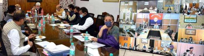Lt Governor takes performance appraisal of Back to Village-3, discusses future plan