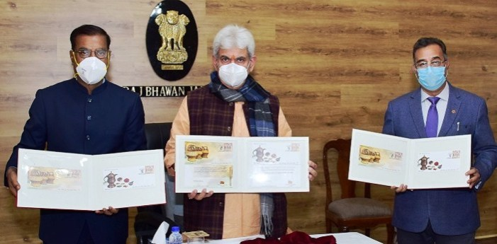 LG Sinha Releases Special Covers On Kangri And Kehwa By Department Of Posts