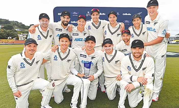 New Zealand sweep WI to top Test rankings
