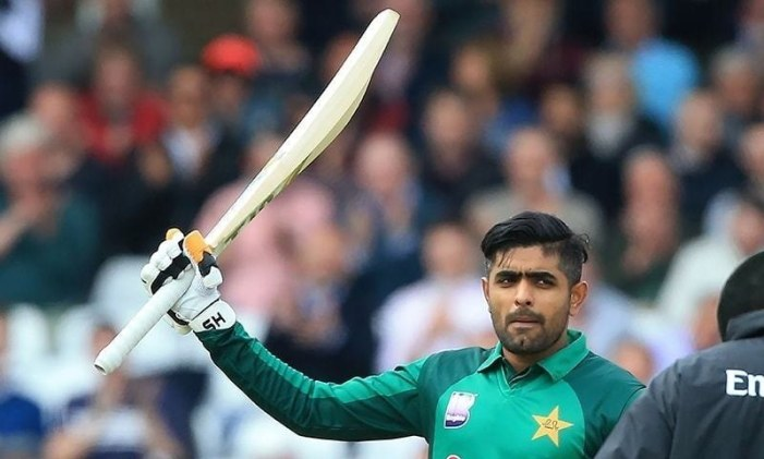 First nets for Babar following thumb injury