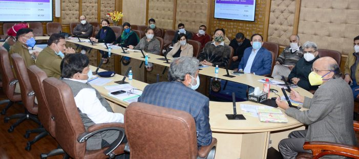 CS chairs maiden meeting of UT Steering Committee ON COVID Vaccination