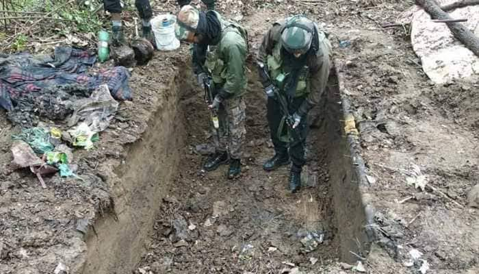 Hideout busted during CASO in Lolab Kupwara