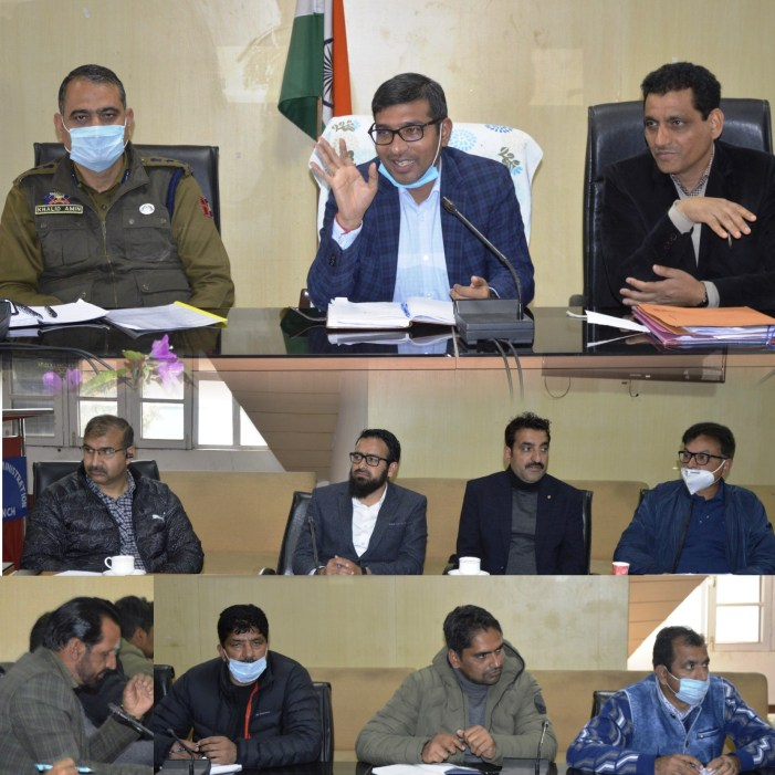 Arrangements for conduct of Class IV JKSSB Exam finalized at Poonch