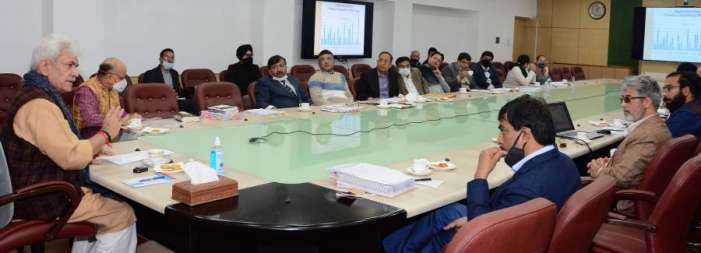 Lt Governor reviews functioning of JKIDFC