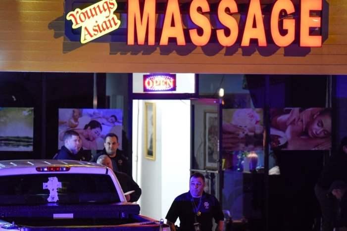 8 killed in 3 separate spa shootings in US