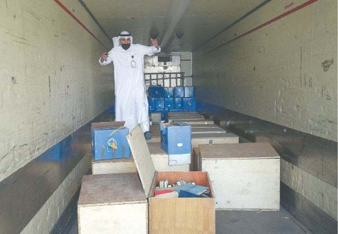 Kuwait receives tonnes of national archives from Iraq