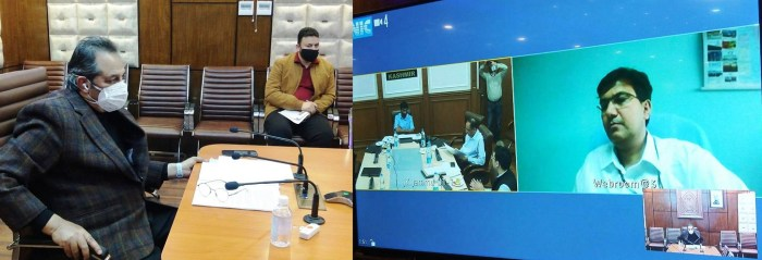 Baseer Khan chairs 77th BoDs meeting of JKSPDCL