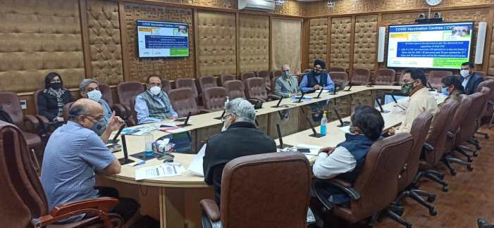 3.81 lakh beneficiaries vaccinated for COVID, no serious adverse case reported in J&K