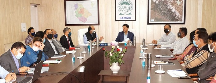Sanjeev Verma reviews functioning of Forest Department