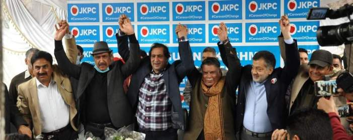 Ex minister among 3 prominent leaders join Peoples Conference in Srinagar