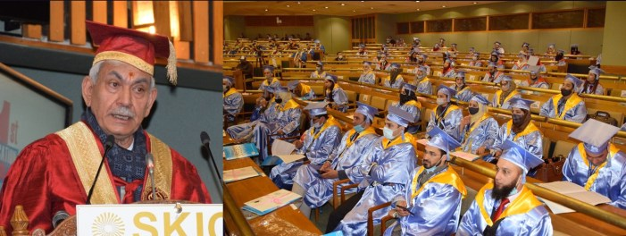 Lt Governor addresses 1st Convocation of Islamic University of Science and Technology