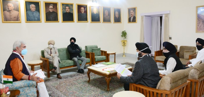 Former Ministers, Ex MLA, Sikh Progressive Front call on Lt Governor