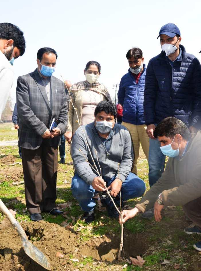 Sarmad Hafeez launches plantation drive at Kongposh