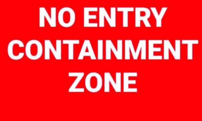 In Srinagar, five new areas declared Covid-19 'containment zones'