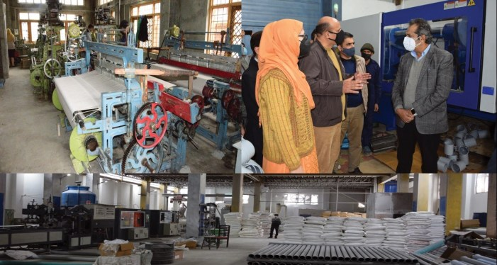 Advisor Baseer Khan visits Silk Park and industrial estate Zakura