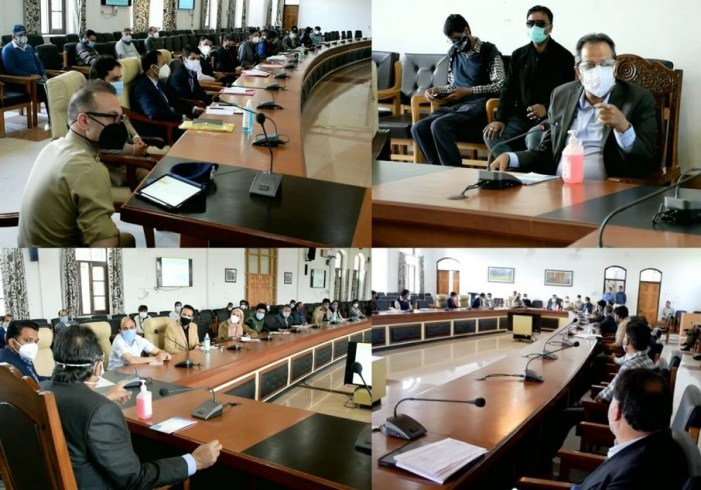 Ensure people follow Covid SOPs, get vaccinated: Baseer Khan directs Officers