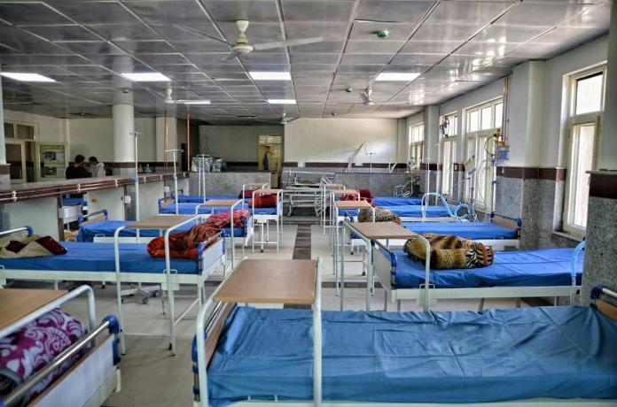 Growing surge of covid, 100 bedded hospital ready in Bandipora