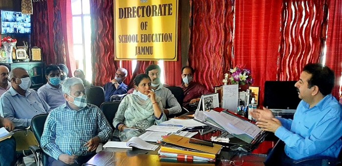 Director School Education Jammu chairs review meeting