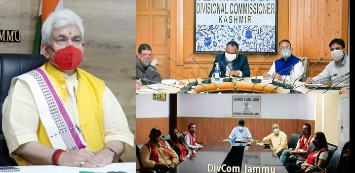 Lt Governor chairs meeting with office-bearers, volunteers of Indian Red Cross Society, J&K